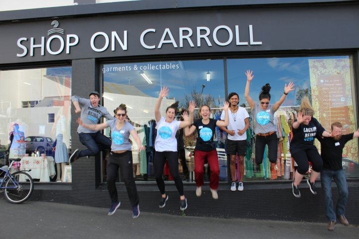 UniCrew Visits: Shop on Carroll