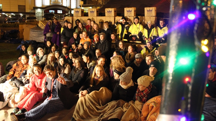 The Dunedin Sleep Out 2016!