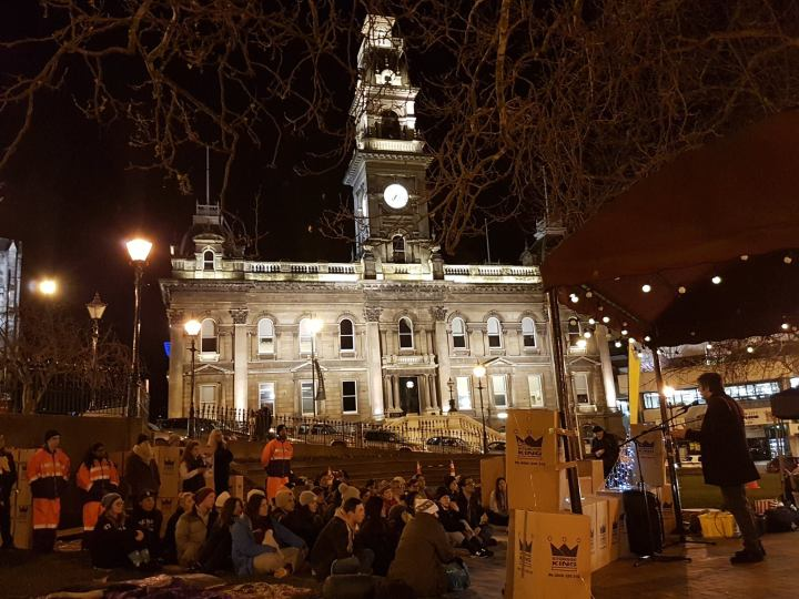 Photo Essay: The Dunedin Sleep Out